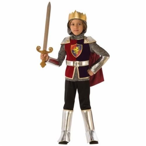 Rubies 278985 Halloween Boys Knight Costume - Medium Perspective: front
