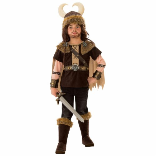 Rubies 279017 Halloween Viking Boy Costume - Small Perspective: front