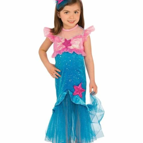 Rubies 279020 Halloween Girls Mermaid Costume - Medium Perspective: front