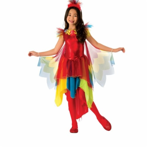 Rubies Costume 280227 Girls Parrot Costume, Large Perspective: front