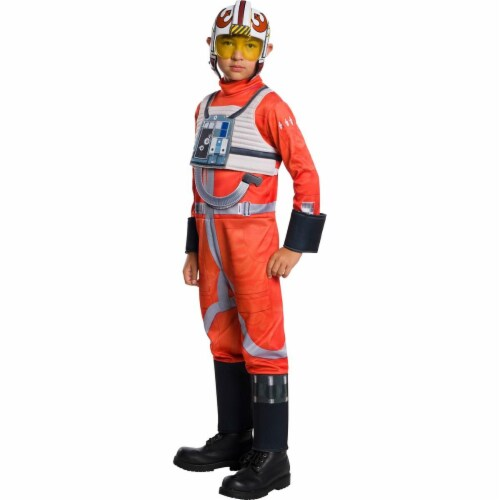 Rubies 279044 Halloween Star Wars Classic Boys X-Wing Fighter Pilot Costume - Large Perspective: front