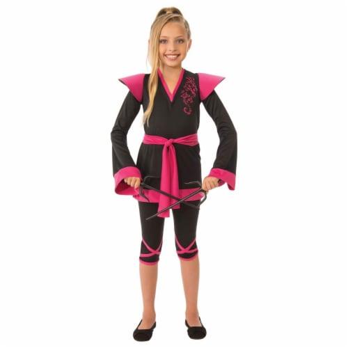 Rubies 279051 Halloween Girls Ninja Girl Costume - Medium Perspective: front