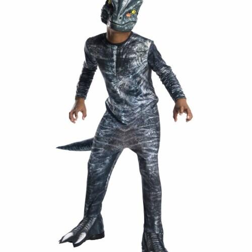 Rubies 279059 Halloween Jurassic World Fallen Kingdom Velociraptor Child Costume - Large Perspective: front