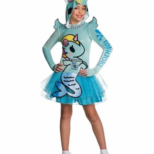 Rubies 279070 Halloween Tokidoki Girls Mericorno Costume - Medium Perspective: front