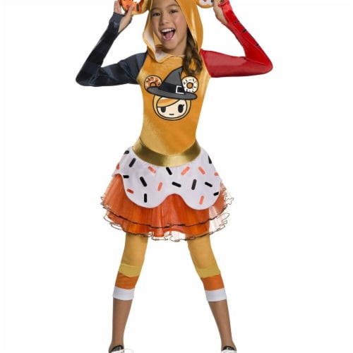 Rubies 279071 Tokidoki Girls Halloween Donutella Costume Perspective: front