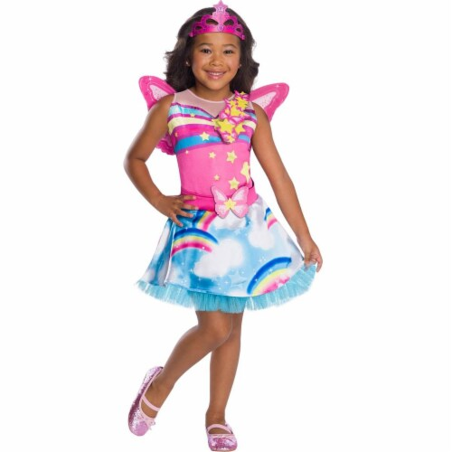Rubies 279100 Halloween Girls Barbie Fairy Costume - Small Perspective: front