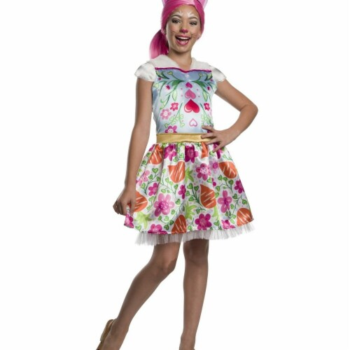 Rubies 279087 Halloween Enchantimals Bree Bunny Girls Costume - Small Perspective: front