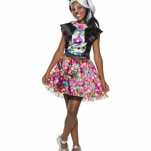 Rubies 279093 Halloween Enchantimals Sage Skunk Girls Costume - Small Perspective: front