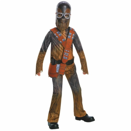 Rubies 266355 Halloween Solo A Star Wars Story-Chewbacca Boys Costume - Small Perspective: front