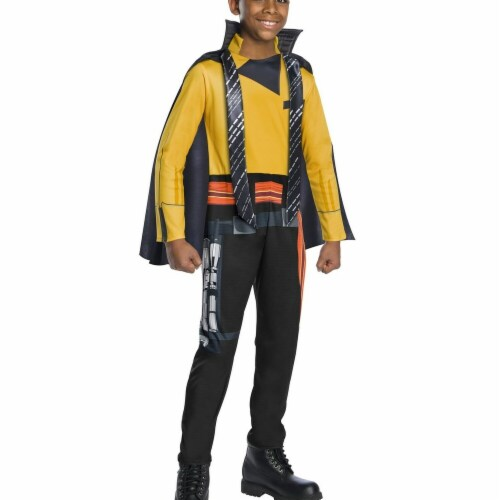 Rubies 266359 Halloween Solo A Star Wars Story-Lando Boys Costume - Medium Perspective: front