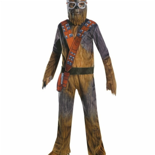 Rubies 266371 Halloween Solo A Star Wars Story-Chewbacca Deluxe Boys Costume - Medium Perspective: front