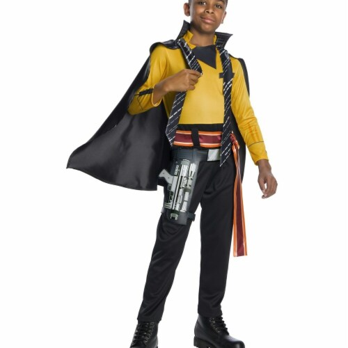Rubies 266373 Halloween Solo A Star Wars Story-lando Deluxe Boys Costume - Small Perspective: front