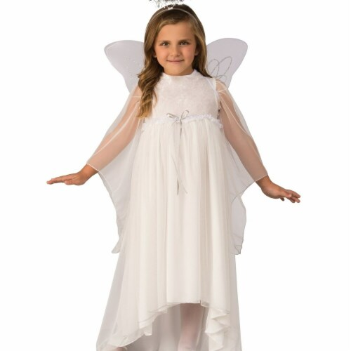 Rubies 275250 Christmas Girls Angel Costume - Small Perspective: front