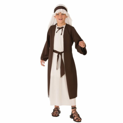 Rubies 275262 Christmas Saint Joseph Boys Costume - Small Perspective: front