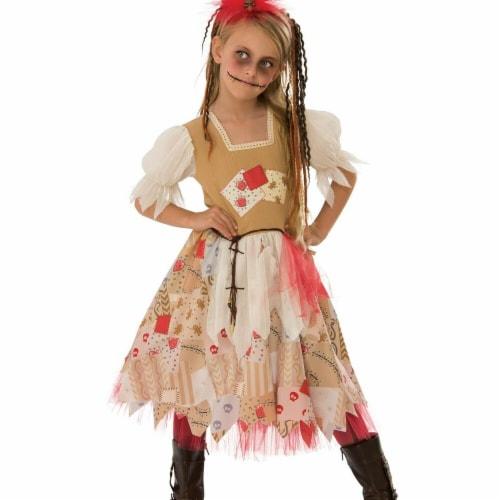Rubies 279111 Halloween Girls Voodoo Girl Costume - Large Perspective: front