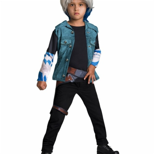 Rubie's Costumes 279143 Ready Player One Parzival Boys Costume Kit, Medium Perspective: front