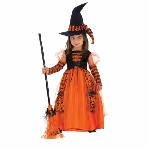 Rubies Costumes 278684 Girls Sparkle Witch Costume Medium Perspective: front
