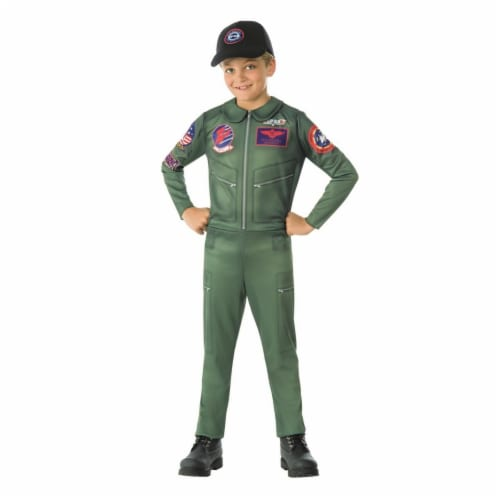 Rubies Costumes 279171 Top Gun Childrens Costume, Medium Perspective: front