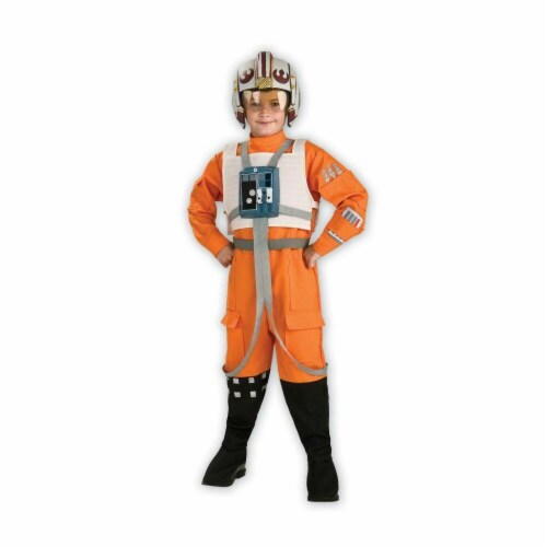 Costumes For All Occasions RU883164MD Star Wars Xwing Pilot Child Md Perspective: front