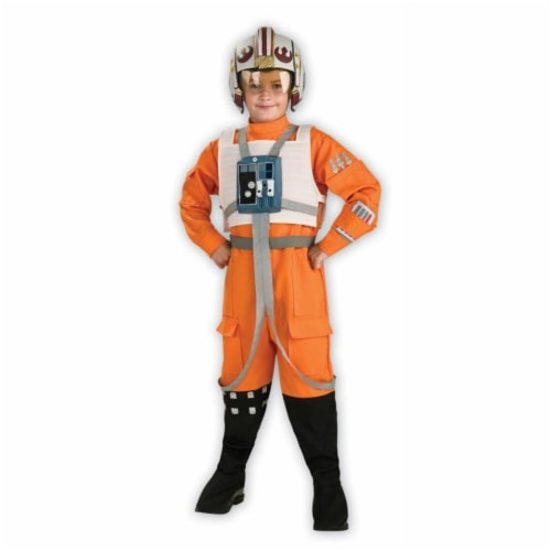 Costumes For All Occasions RU883164LG Star Wars Xwing Pilot Child Lg Perspective: front