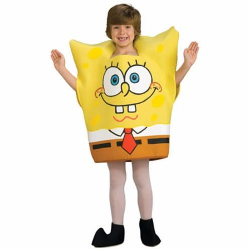 Rubies Costume Co 33189 SpongeBob Squarepants Child Costume Size Large- Boys 12-14 Perspective: front