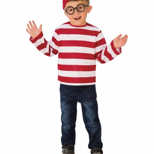 Rubies Costumes 279201 Wheres Waldo Child Costume Medium Perspective: front