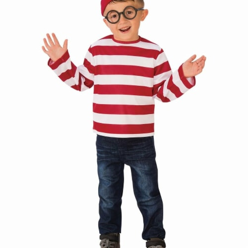 Rubies Costumes 279200 Wheres Waldo Child Costume, Large Perspective: front