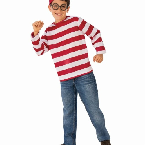 Rubies Costumes 279203 Wheres Waldo Teen Costume Perspective: front