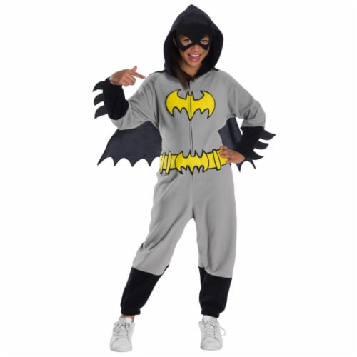 Rubies 404552 DC Super Heroes Batgirl Child Costume, Medium Perspective: front