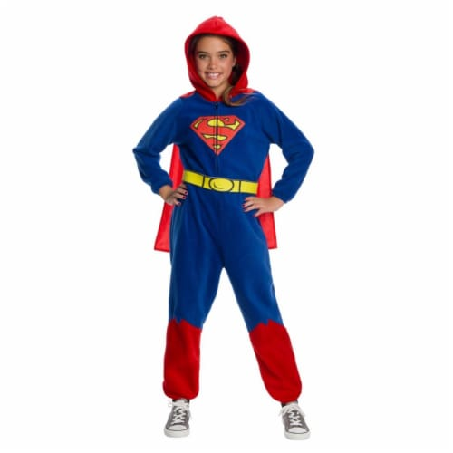 Rubies 404557 DC Super Heroes Superman Costume for Girls, Large Perspective: front