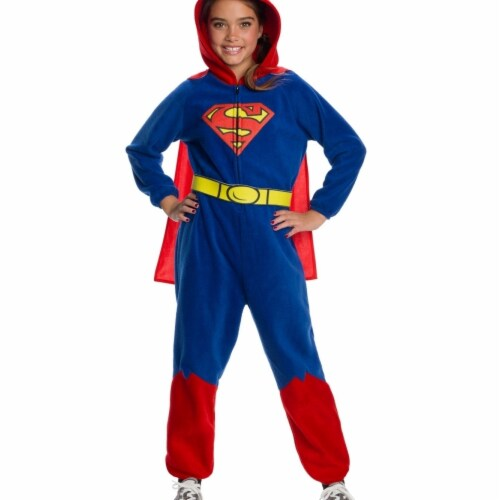 Rubies 404559 DC Super Heroes Superman Costume for Girls, Small Perspective: front