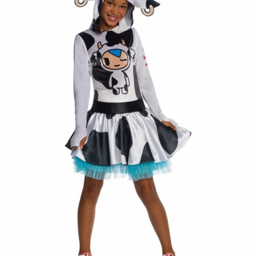 Rubies 404583 Girls Tokidoki Mozzarella Child Costume, Medium Perspective: front