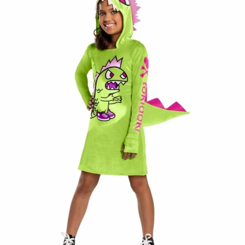 Rubies 404584 Girls Tokidoki Kaiju Child Costume, Large Perspective: front