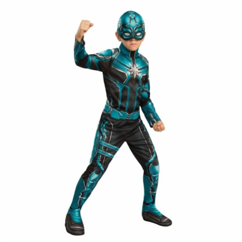 Rubies 404604 Girls Captain Marvel Yon-Rogg Child Costume, Large Perspective: front