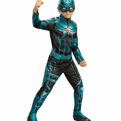 Rubies 404605 Girls Captain Marvel Yon-Rogg Child Costume, Medium Perspective: front