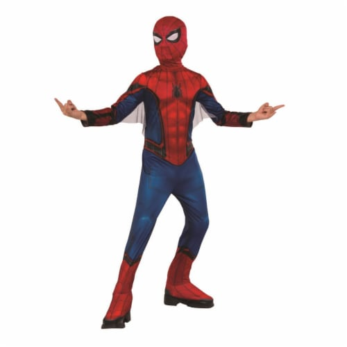 Rubies 404640 Boys Spider Man Far From Home Red & Blue Suit Child Costume - Large Perspective: front