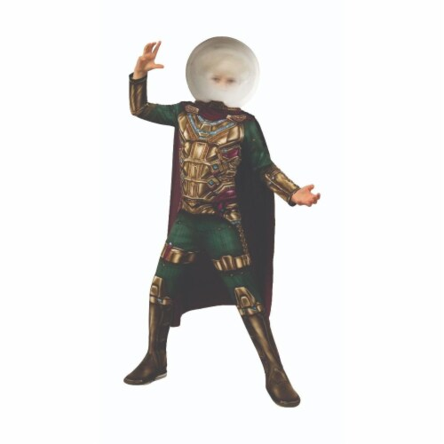 Rubies 404648 Spider Man Far From Home Mysterio Child Costume for Boys - Small Perspective: front