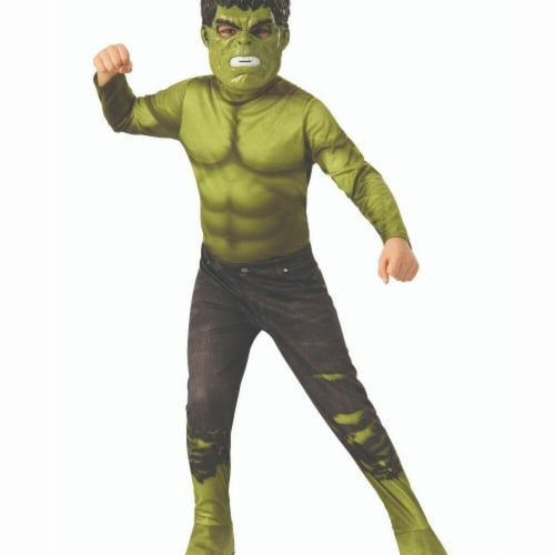 Rubies 404711 Boys Avengers 2018 Hulk 2 Child Costume - Large Perspective: front