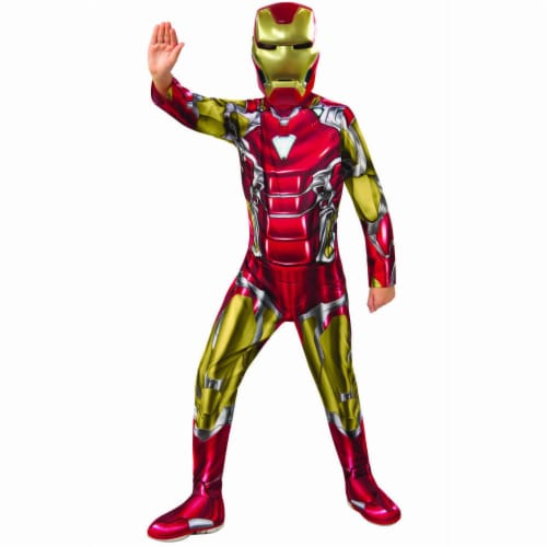Rubies 404714 Avengers Iron Man Child Costume for Boys - Large Perspective: front