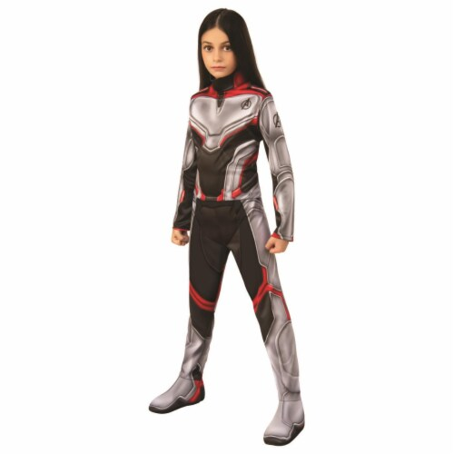 Rubies 404728 Avengers Team Suit Child Costume for Boys - Small Perspective: front