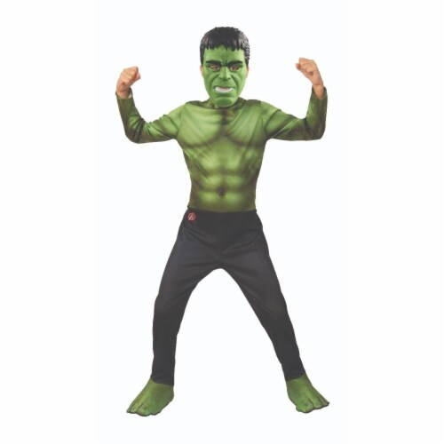 Rubies 404747 Avengers 2019 Hulk 1 Child Costume for Boys - Large Perspective: front