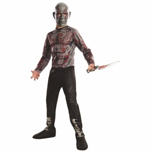 Rubies 404760 Boys Avengers Drax Child Costume - Medium Perspective: front