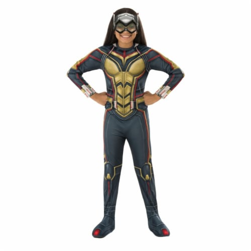 Rubies 404763 Avengers Wasp Child Costume for Girls - Medium Perspective: front