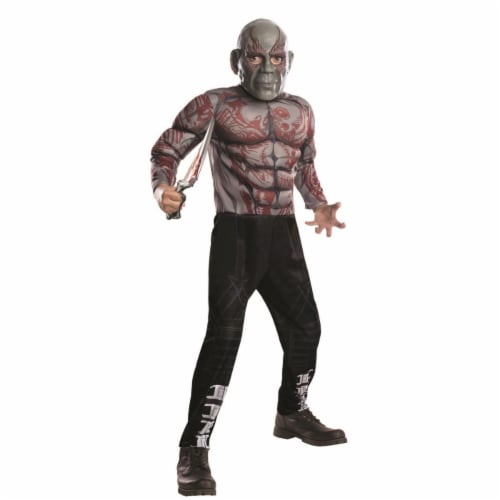 Rubies 404817 Boys Avengers Drax Deluxe Child Costume - Medium Perspective: front