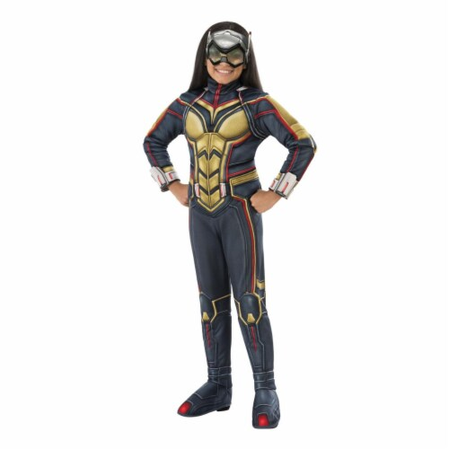 Rubies 404827 Avengers Wasp Deluxe Child Costume for Girls - Small Perspective: front