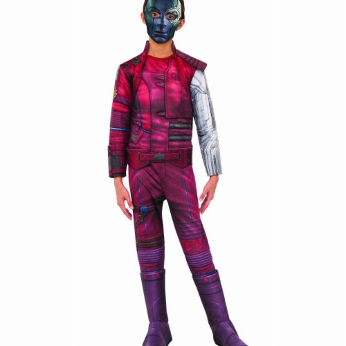 Rubies 404829 Avengers Nebula Deluxe Child Costume for Girls - Medium Perspective: front