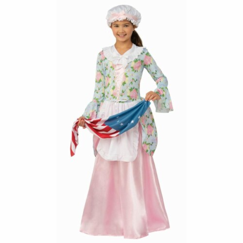 Rubies 279434 Patriotic Colonial Girl Costume - Extra Large Perspective: front