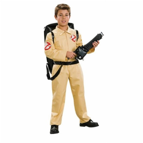 Costumes For All Occasions RU883418MD Ghostbusters Dlx Chld Medium Perspective: front