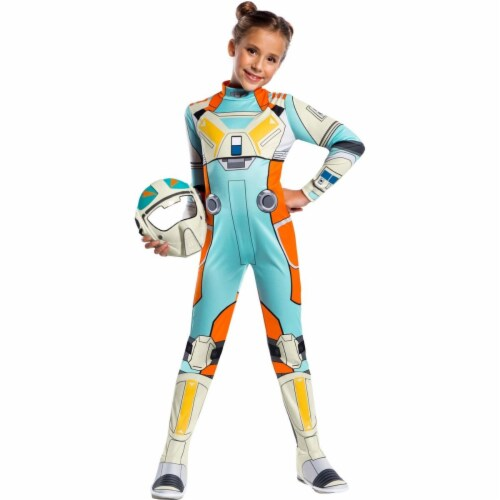 Rubies 404978 Girls Star Wars Resistance Classic Torra Doza Child Costume, Small Perspective: front