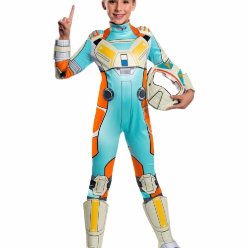 Rubies 404988 Girls Star Wars Resistance Deluxe Torra Doza Child Costume, Large Perspective: front